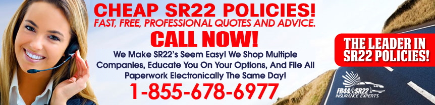 Cheap SR22 Insurance Quotes
