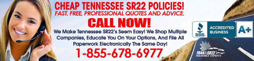 Tennessee SR22 Insurance